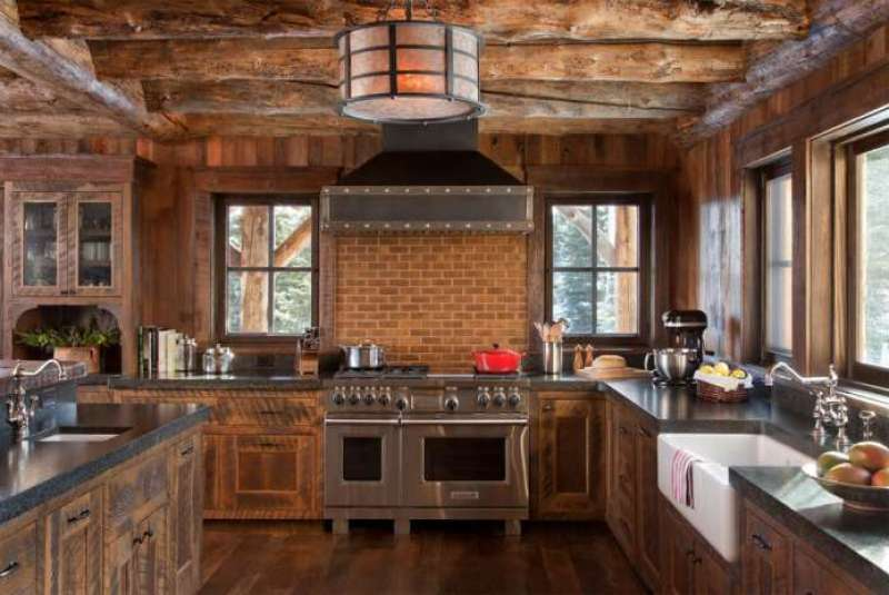 27 The Best Painted Kitchen Cabinet For Your Rustic Farmhouse Kitchen Rengusuk Com
