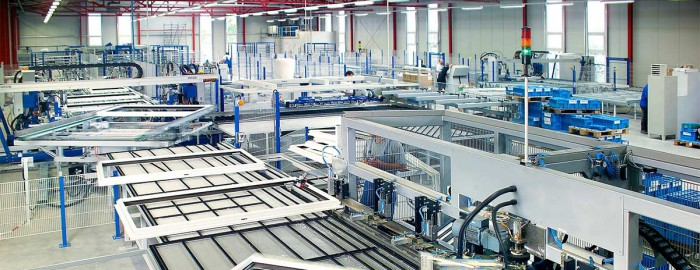 Glassprodukasjon