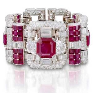 van cleef and arpels bracelet rubys