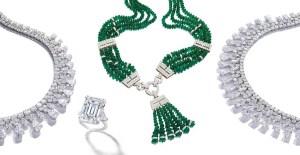 David Webb necklace emerald