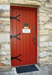 The door to the church is always open
