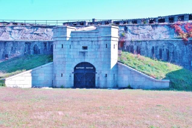 Part of Fort Hancock