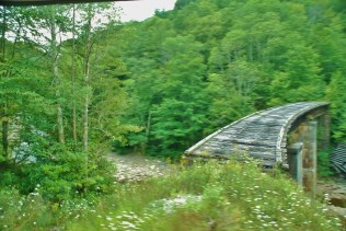 Abandoned Railroad Bridge, built c. 1905