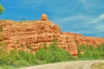 Red Canyon, near Bryce City--A preview of Bryce Canyon