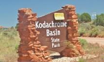 Kodachrome Basin State Park Entrance