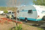 Our Riverside 177 camper in Riverside, Wyoming