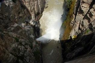 The Spillway below the dam