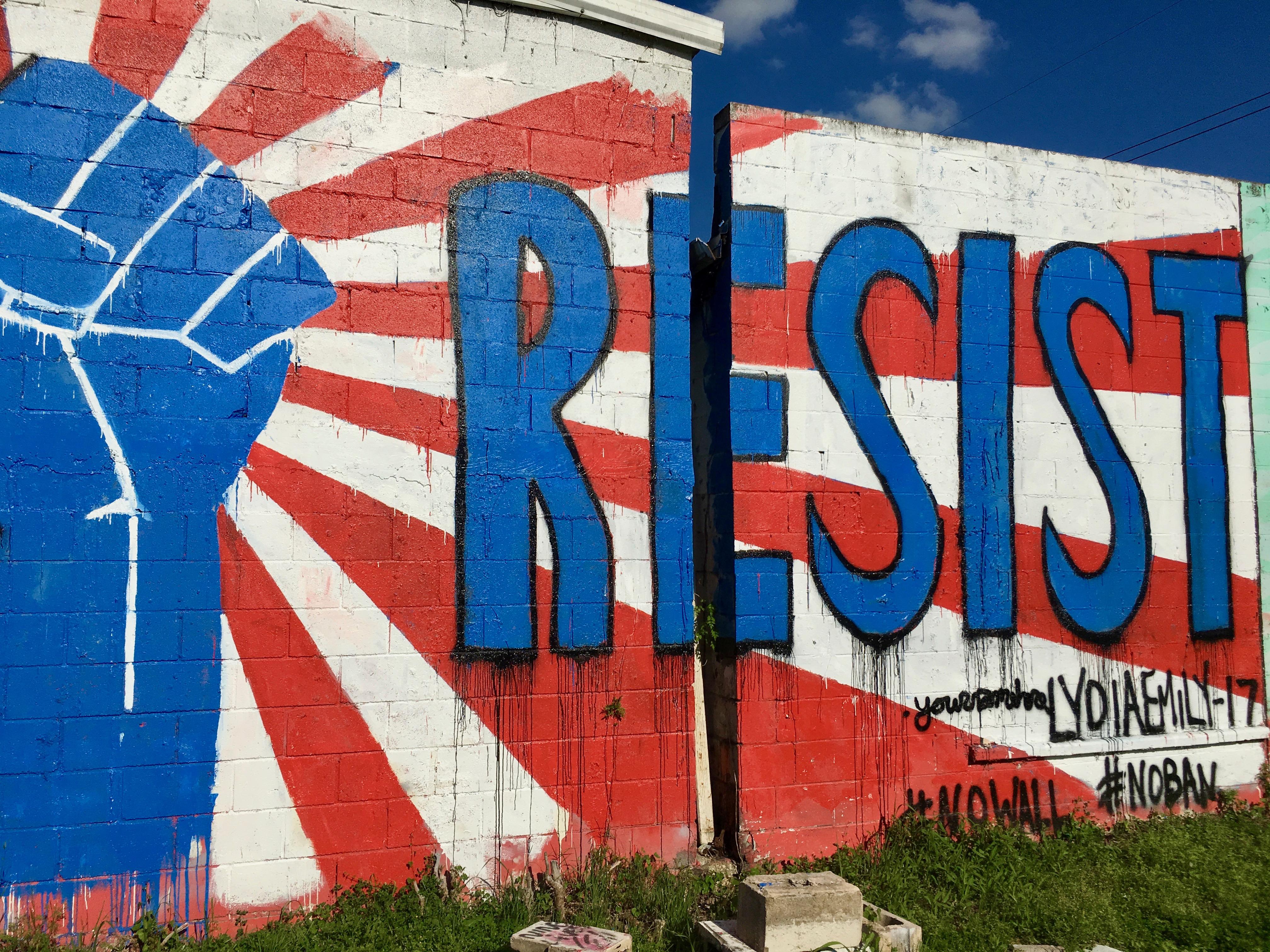 RESIST Mural