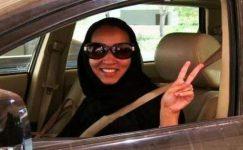 Suudi Arabistan'da Kadının Araba Kullanması Cesaret İşi!