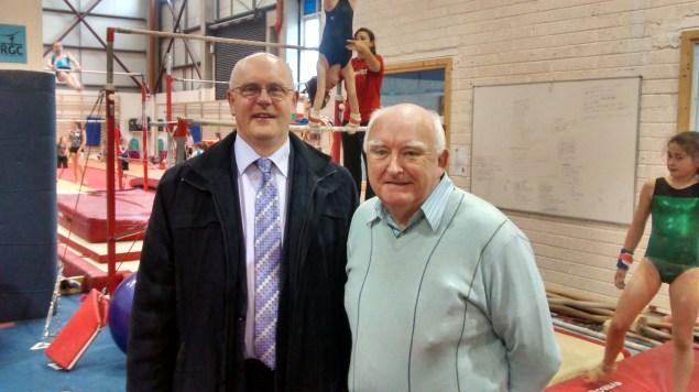 Brendan McGrath and Cllr. Declan McDonnell at RGC