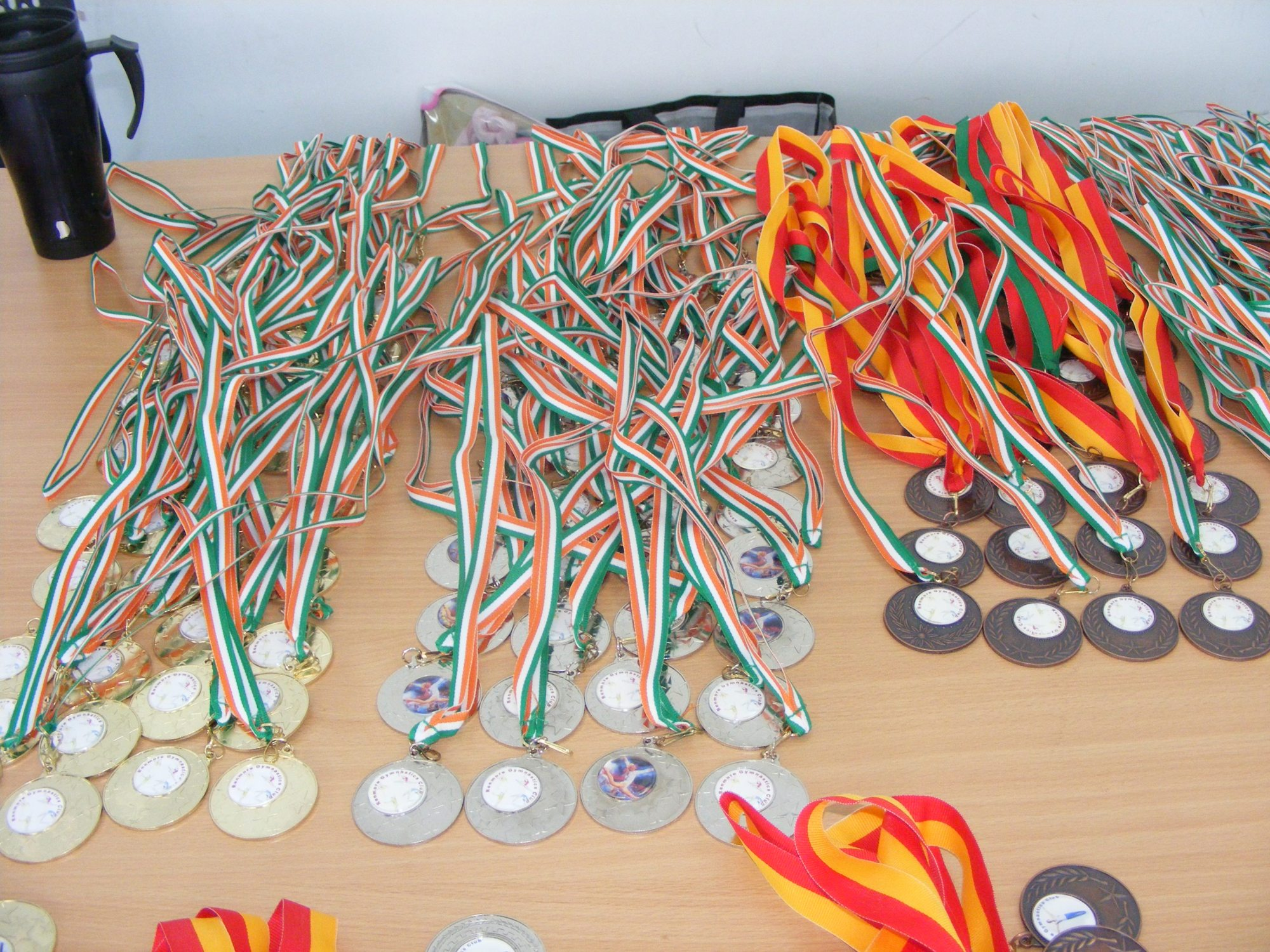 Club Competition Medals