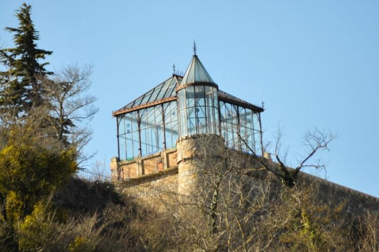 La Tour de l'Orangeraie du Domaine de Bérenger Saunière à Rennes-Le-Château