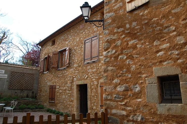 Le presbytère de Rennes-Le-Château où vécu Bérenger Saunière toute sa vie