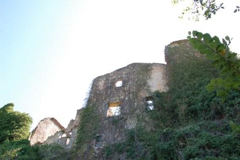 Les ruines du château des Hautpoul de Rennes-Le-Château