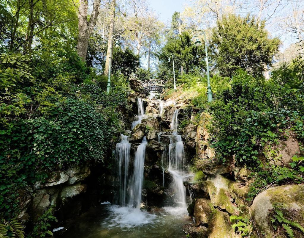 Cascade, parc du Thabor, Rennes