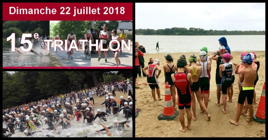 Rendez-vous à Feins ce week-end ! Triathlon S, M & aquathlons jeunes