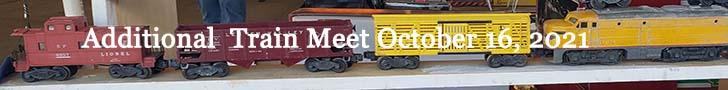 October , 2021 train show