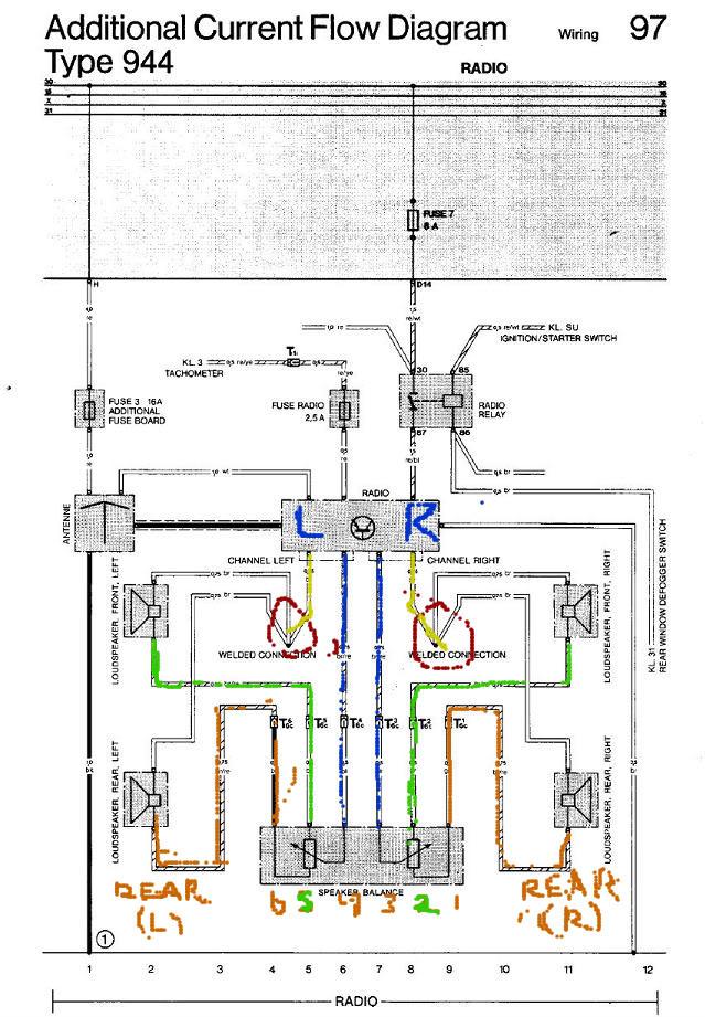 Wiring Diagram For Radio 1986 Porsche 944 Trusted. Porsche 968 Radio Wiring Diagram Great Design Of \u2022 944 Schematics For 1986. Porsche. 1986 Porsche 944 Radio Wiring At Scoala.co