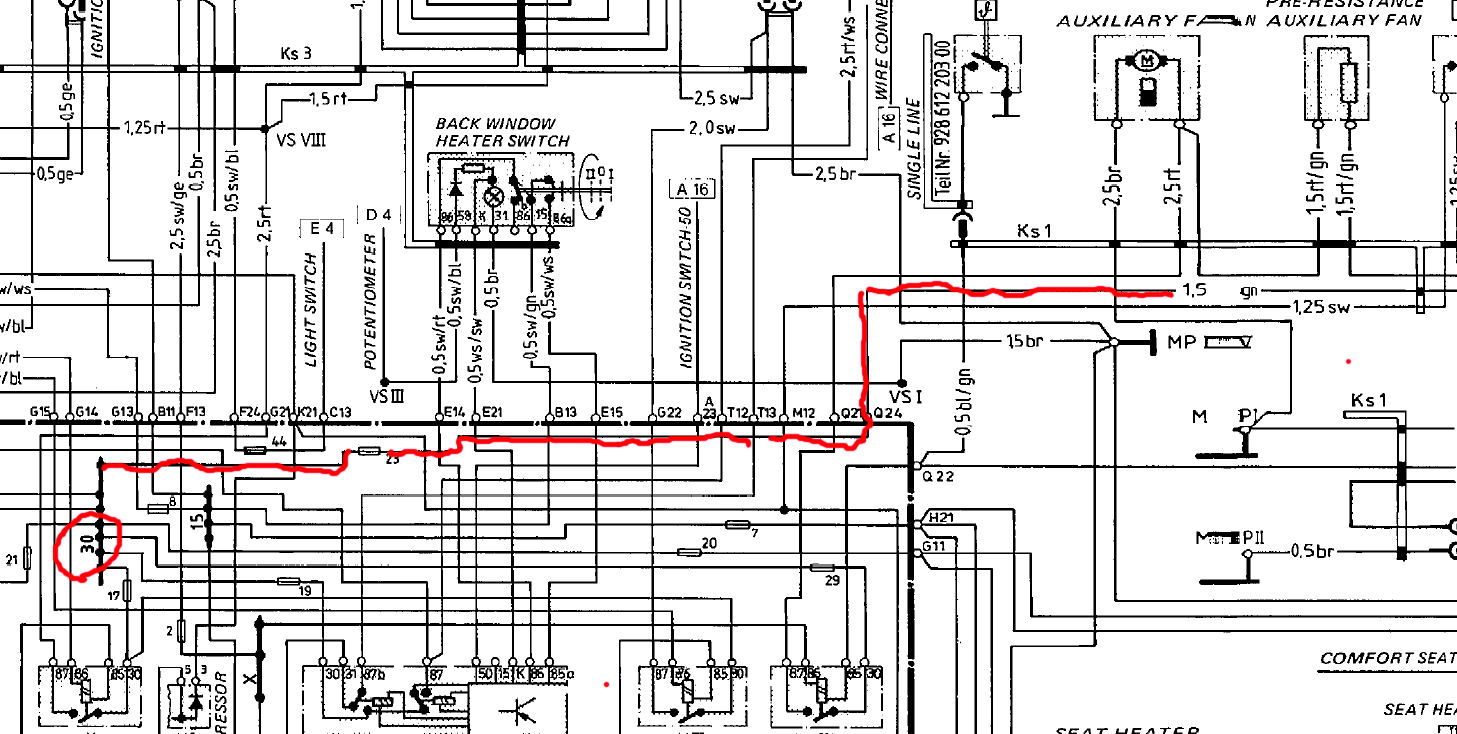 Wiring Diagrams For 86 Porsche 944   Wiring Library