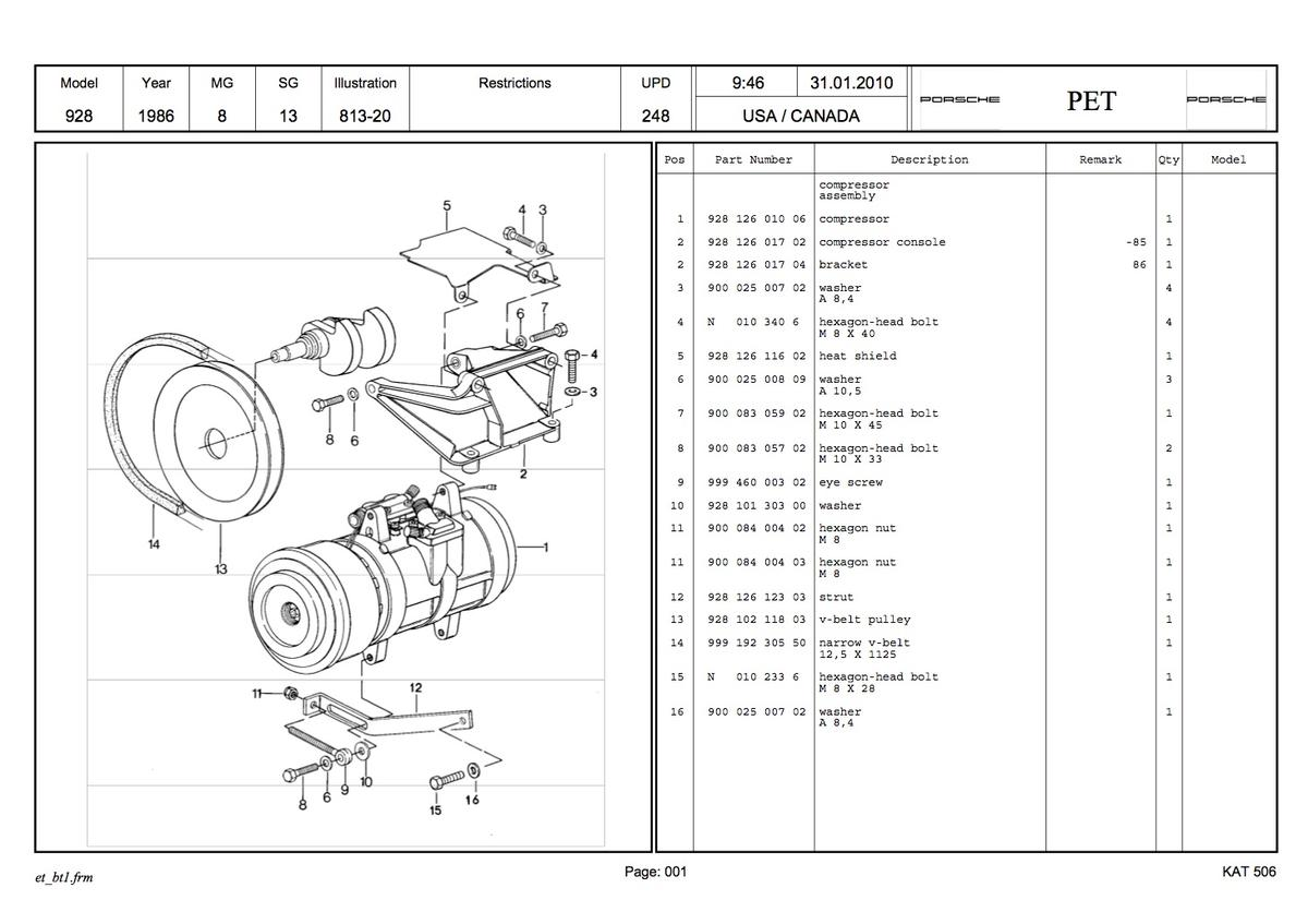 Ac Compressor Mounting Parts