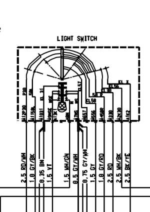 Headlight Switch Plug Wiring  Please Help  Rennlist