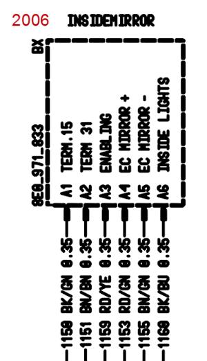 Mirror wire diagram  Rennlist  Porsche Discussion Forums