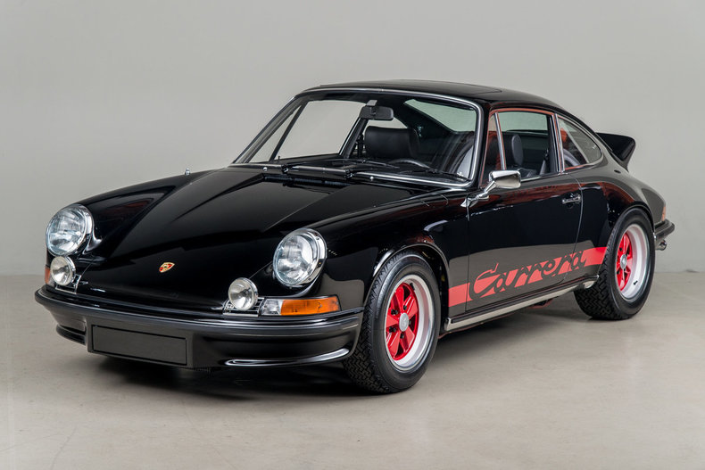 This 1973 Porsche 911 Carrera Rs Has An Interesting History