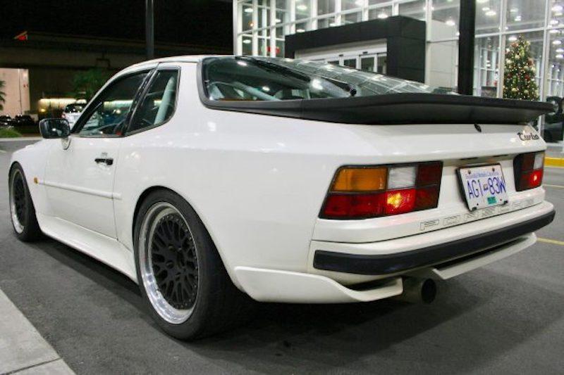 Porsche 944 turbo modified