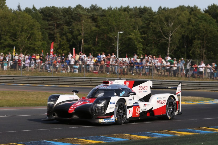 24 Hours of Le Mans - Toyota TS050 No. 9