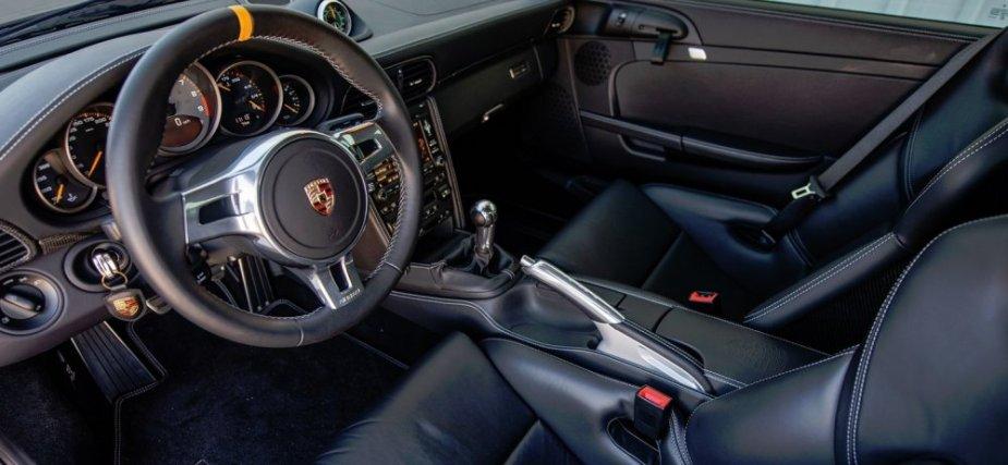 Seinfeld Porsche 911 GT3 RS 4.0 Interior