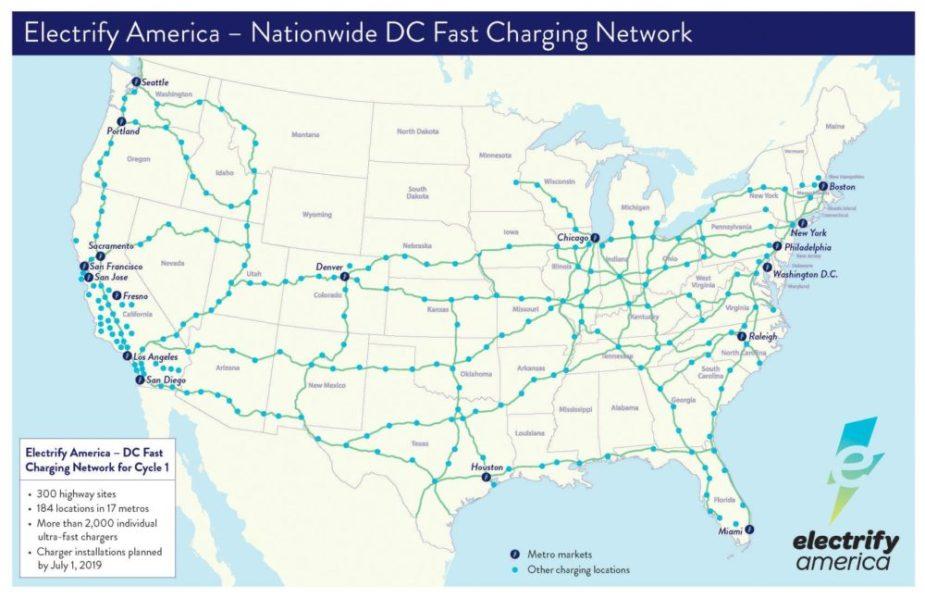 Porsche + Electrify America Taycan Charging Plan