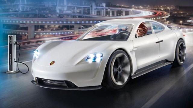 Porsche Mission E Playmobil toy