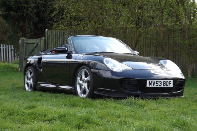 2003 Porsche 911 (996) Turbo S Tiptronic Cabriolet