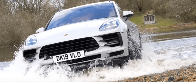 2019 Porsche Macan S off-road