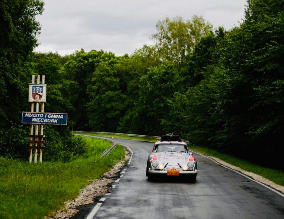 Renee Brinkerhoff of Valkyrie Racing Porsche 356