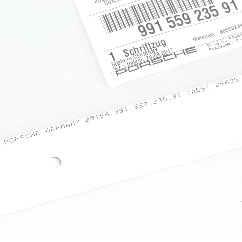 Porsche Emblem 981 Amp 991