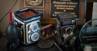 Reno photographer's film portraits blend old-school with high-tech