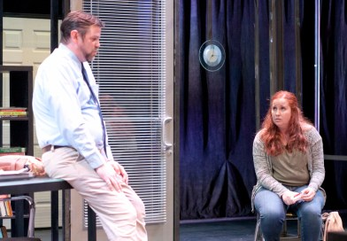 Backstage Review: 'Oleanna' at Reno Little Theater
