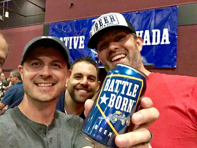 Reno Dads and Battle Born beer