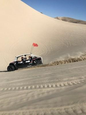 Sand Mountain outside of Fallon