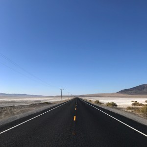 Highway 50, the Loneliest Road in America outside of Fallon