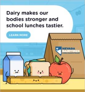 Nevada Dairymen lunch illustration