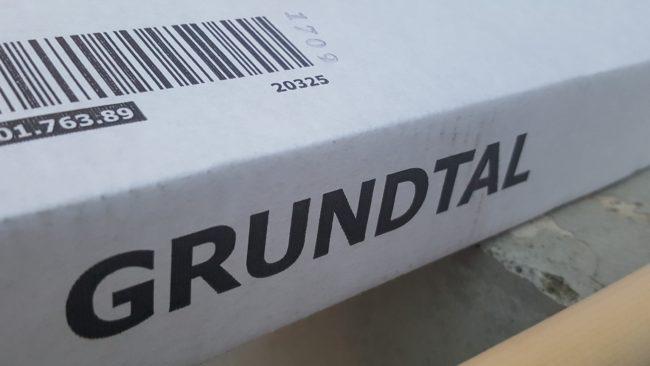IKEA GRUNDTAL 取付