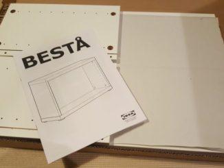 IKEA BESTA 組み立て