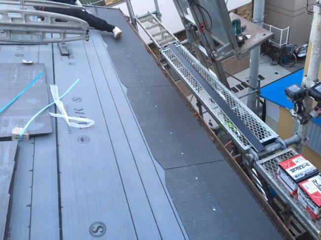 屋根 葺き替え ルーフィング
