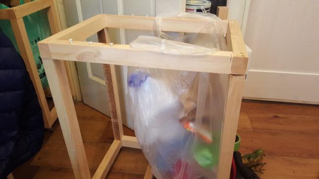 便利なゴミ箱 DIY