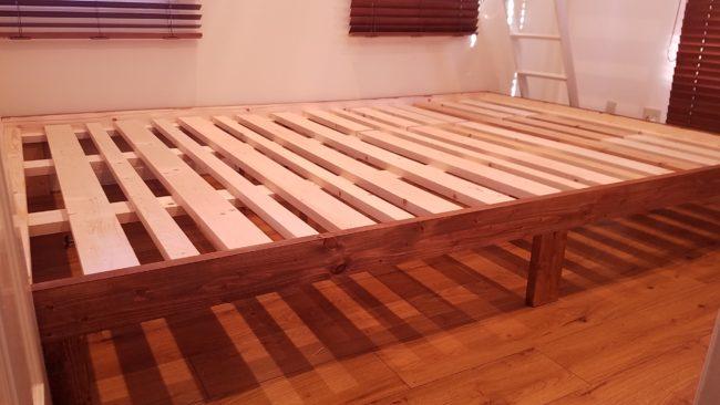 自作ベッド DIY
