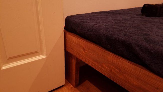 ベッドサイズ DIY