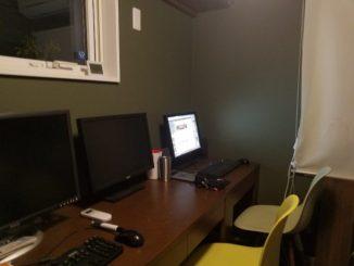 書斎のリノベーション