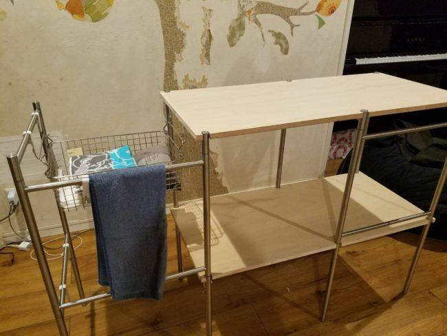 DIY イケアのBROGRUNDでテーブルを作る